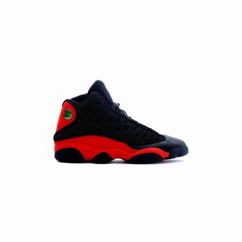 414571-010 Air Jordan 13 (XIII) Bred Black Red A13008(Women Men Gs Girls)