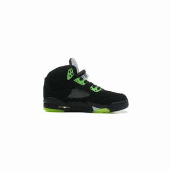 440888-511 Air Jordan 5 Quai 54 Black Radiant Green