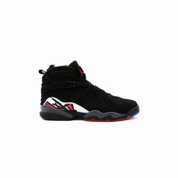 305381-061 Air Jordan 8 (VIII) Retro Playoffs Black Varsity Red White A08002