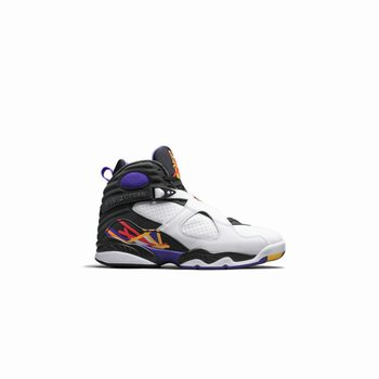 Authentic 305381-142 Air Jordan 8 Retro White/Infrared 23-Black-Bright Concord Style
