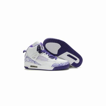 Air Jordan spizike Women White Varsity Purple A24042