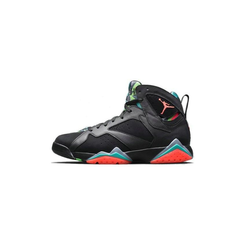 new styles 7da4c 1e797 Authentic 705350-007 Air Jordan 7 Retro Black Blue Graphite-Retro-Infrared  23(Men Women GS Girls)